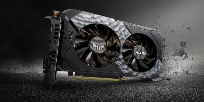 ASUS TUF GeForce RTX 2060 - wytrzymała karta graficzna bez LED [1]