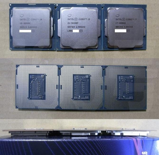 Intel Core i5-9400F - procesor dostępny w wersjach z różnym IHS [2]