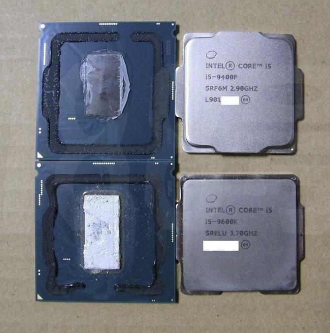 Intel Core i5-9400F - procesor dostępny w wersjach z różnym IHS [3]