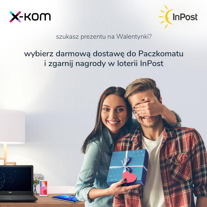 Walentynkowe okazje x-kom i darmowa dostawa do paczkomatu [1]