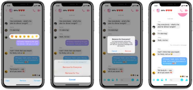 Messenger pozwoli użytkownikom usuwać wysłane wiadomości  [2]