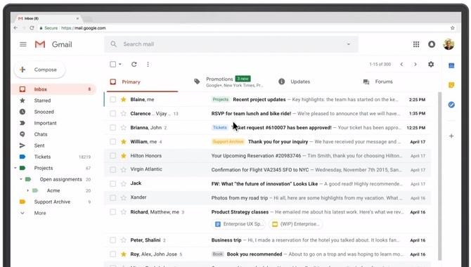Gmail dzięki TensorFlow wykrywa 100 mln więcej spamu dziennie [1]