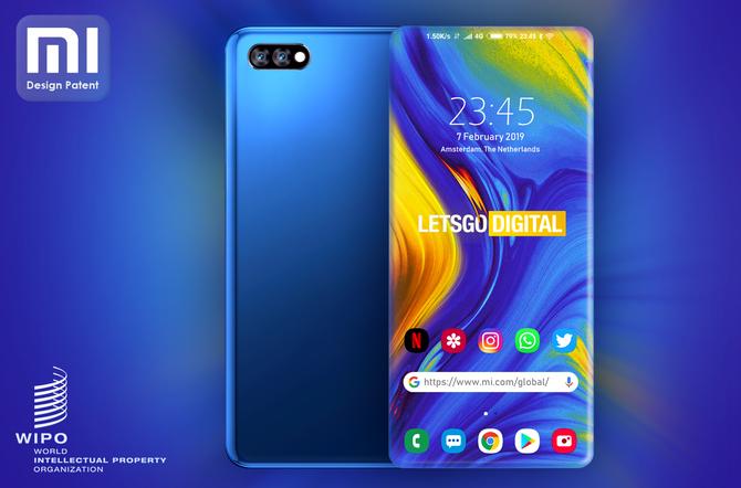 Nowy patent od Xiaomi: smartfon prawdziwie bezramkowy [1]