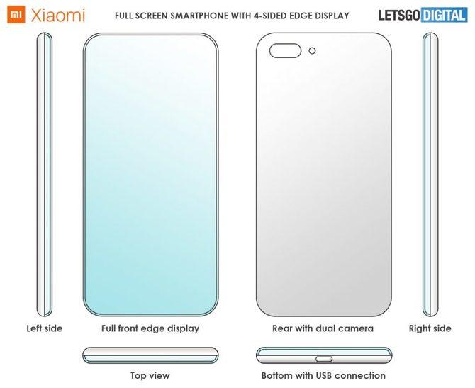 Nowy patent od Xiaomi: smartfon prawdziwie bezramkowy [2]