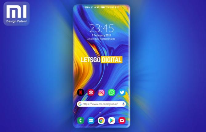 Nowy patent od Xiaomi: smartfon prawdziwie bezramkowy [3]