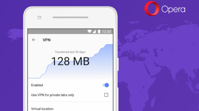 Opera na Androida z darmowym dostępem do sieci VPN [1]