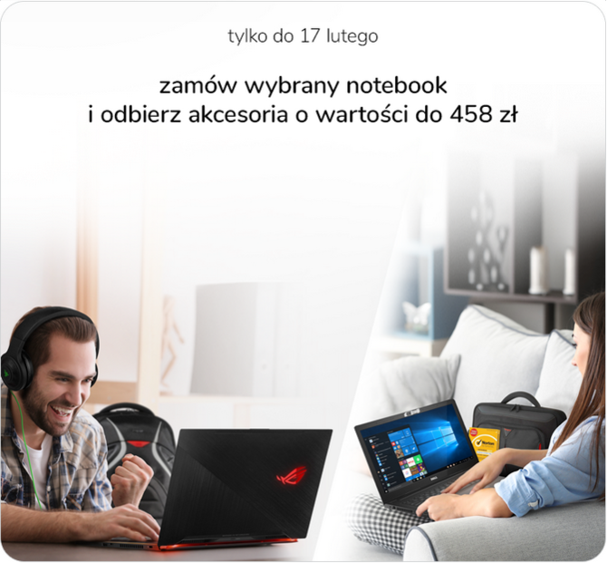 Tydzień laptopów w x-kom - promocje na wybrane modele i gratisy [9]