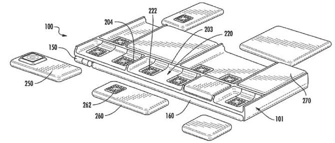 Patent Google: firma rozważa zbudowanie modułowego smartfona [2]