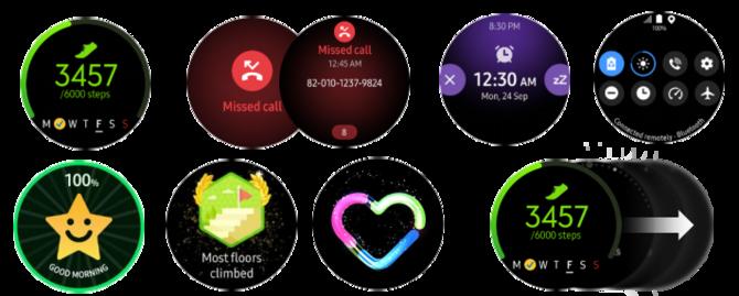 Samsung Galaxy Watch Active - specyfikacja i rendery systemu [1]