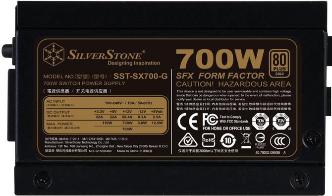 SilverStone SX700-G - Mały zasilacz 80 Plus Gold trafia do sklepów [2]