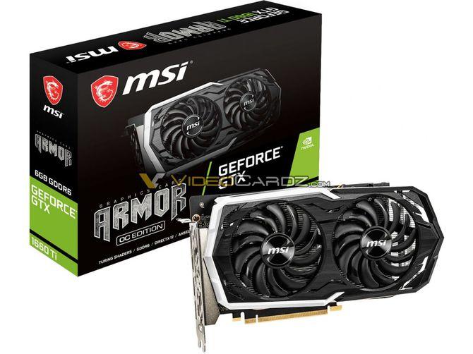 GeForce GTX 1660 Ti - zdjęcia rdzenia TU116 i autorskich kart od MSI [1]