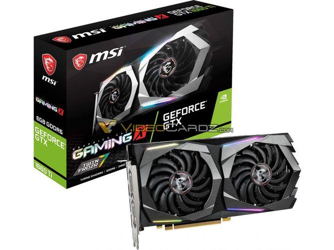 GeForce GTX 1660 Ti - zdjęcia rdzenia TU116 i autorskich kart od MSI [3]