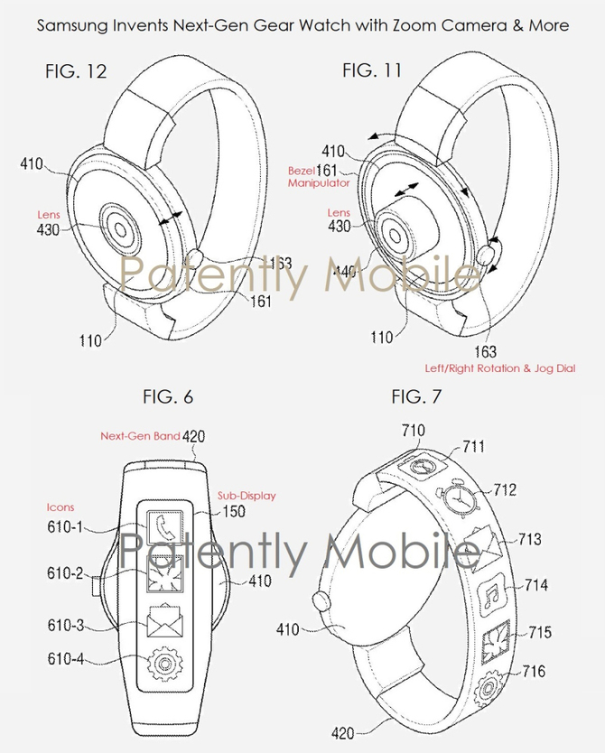 Nowy smartwatch Samsunga z zoomem i wyświetlaczem na pasku [1]