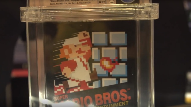 A very rare edition of Super Mario sold for $ 100,000. [1]