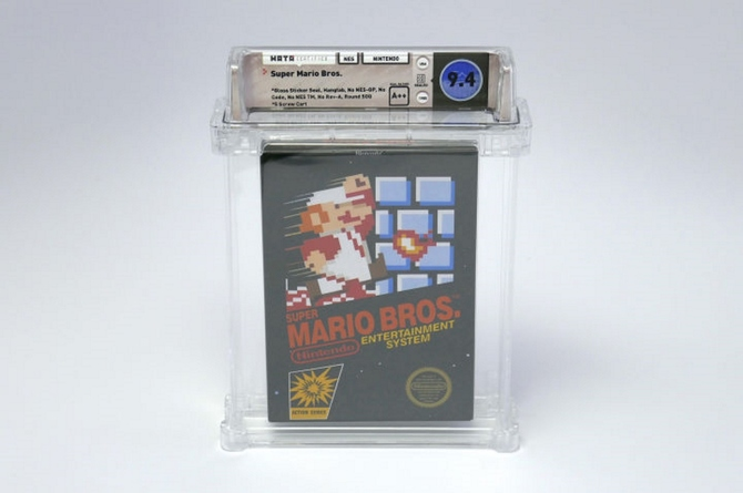 A very rare edition of Super Mario that sold for $ 100,000. [2]
