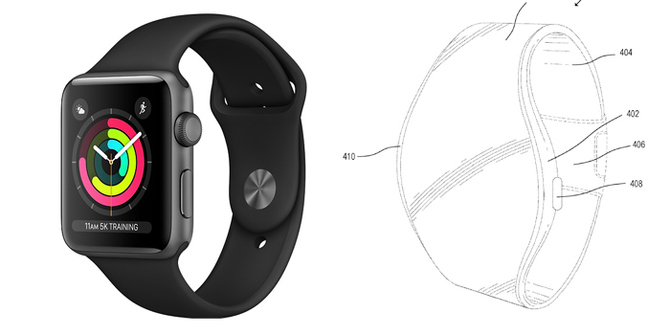 Nowy Apple Watch będzie miał giętki wyświetlacz w opasce? [1]