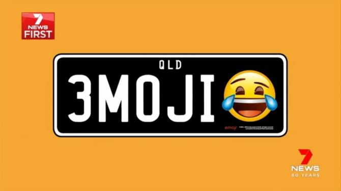 Emotikony na rejestracjach pojazdów dozwolone w Australii [1]