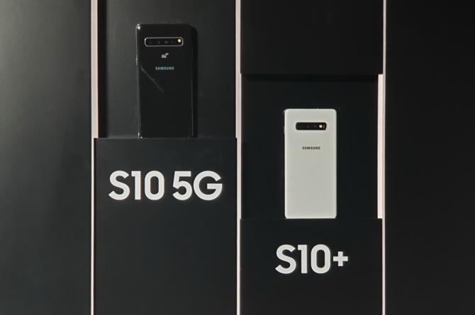Samsung Galaxy S10 5G - flagowa wersja z poczwórnym aparatem [1]