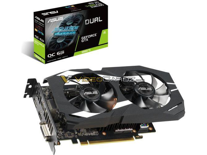 ASUS przygotowuje trzy wersje GeForce GTX 1660 Ti  [1]