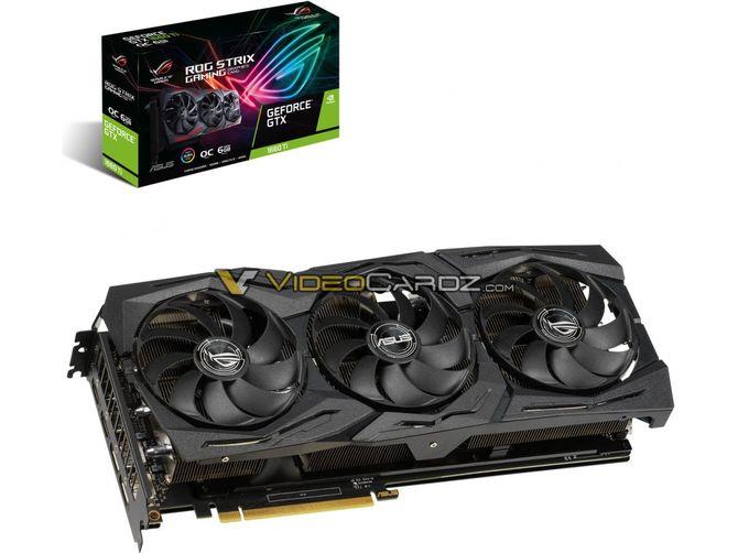 ASUS przygotowuje trzy wersje GeForce GTX 1660 Ti  [2]