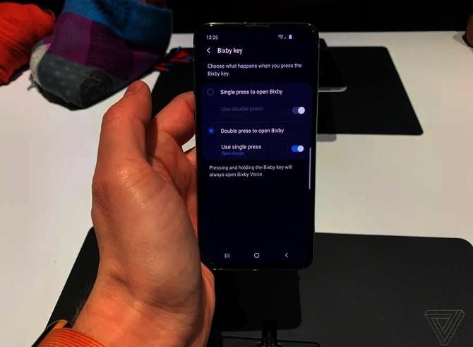 Galaxy S10 - przycisk Samsung Bixby będzie można programować [2]
