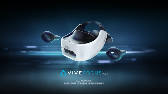 HTC Vive Focus Plus: mobilne rozwiązanie VR dla biznesu [1]
