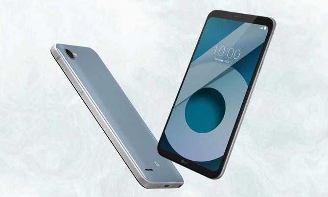 Smartfon LG Q6 Platinium Alpha - Gorący Strzał w x-kom za 415 zł [1]