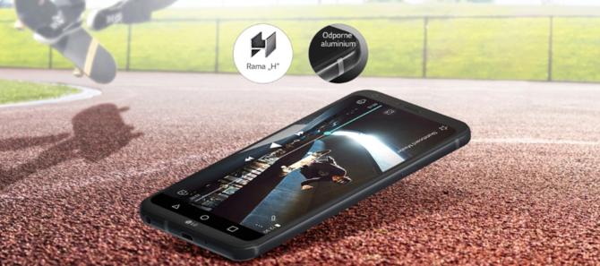Smartfon LG Q6 Platinium Alpha - Gorący Strzał w x-kom za 415 zł [2]