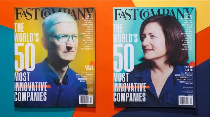Apple spada na 17. miejsce wśród najbardziej innowacyjnych firm [1]