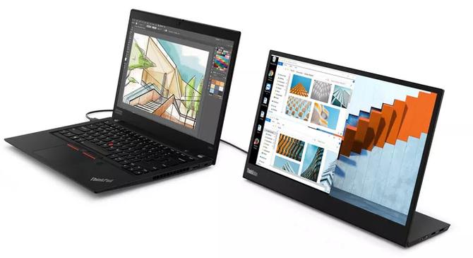 "MWC2019: Lenovo ThinkVision M14 - monitor FullHD 14"" z USB-C [1]"