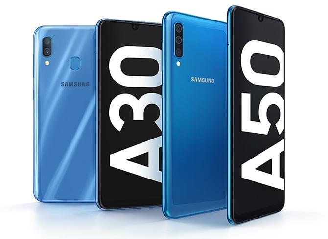 Samsung Galaxy A50 i A30 - premiera nowych solidnych średniaków [1]