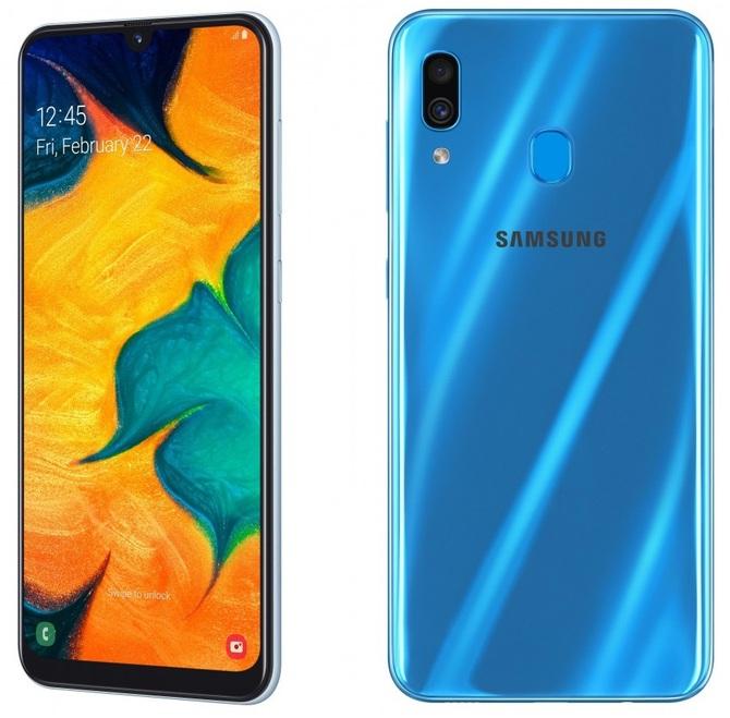 Samsung Galaxy A50 i A30 - premiera nowych solidnych średniaków [2]