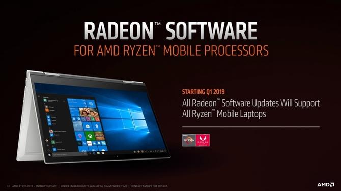 AMD Radeon Software Adrenalin 2019 także dla Ryzen Mobile [2]