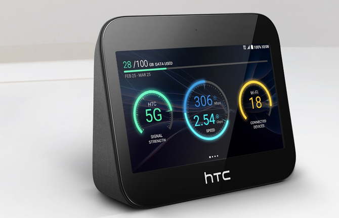 HTC 5G Hub: centrum multimedialne z modemem 5G i ekranem HD [2]