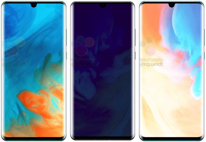 Huawei P30 Pro: pierwsze rendery i przecieki dotyczące specyfikacji [1]