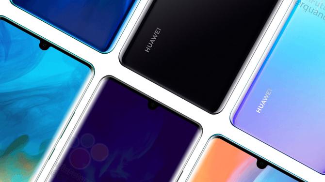 Huawei P30 Pro: pierwsze rendery i przecieki dotyczące specyfikacji [3]