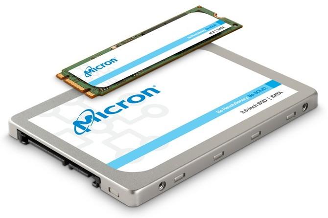 Micron SSD 1300 SATA - nowa, budżetowa seria dysków do 2 TB [1]