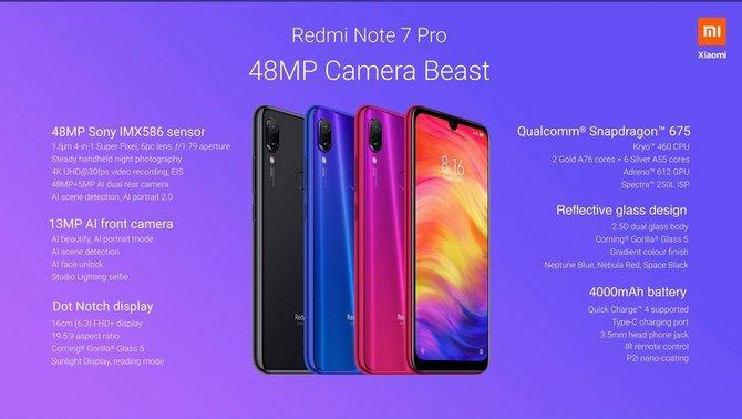 Redmi Note 7 Pro - Xiaomi ujawnia kolejnego hitowego średniaka [2]
