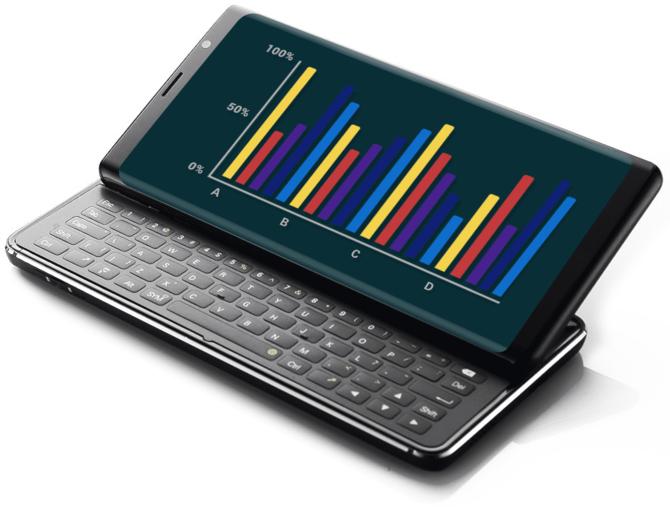 F(x)tec Pro 1 - Smartfon z wysuwaną, fizyczną klawiaturą [1]