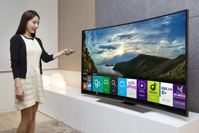 Oprogramowanie antywirusowe McAfee na Smart TV Samsung [1]