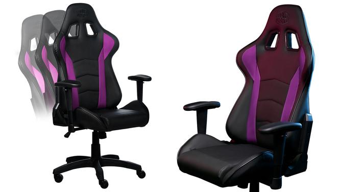 Cooler Master Caliber R1 - nowy ergonomiczny fotel dla graczy [2]