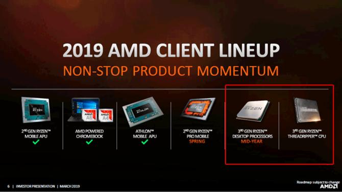 Procesory AMD Threadripper 3 pojawią się  jeszcze w tym roku [2]