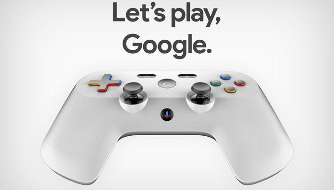 Kontroler Google: patent i rendery pada do konsoli Project Yeti [1]