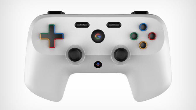 Kontroler Google: patent i rendery pada do konsoli Project Yeti [2]