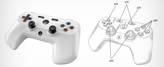 Kontroler Google: patent i rendery pada do konsoli Project Yeti [3]