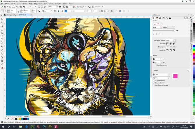 CorelDRAW Graphics Suite 2019: 30 rocznica i powrót do macOS [6]