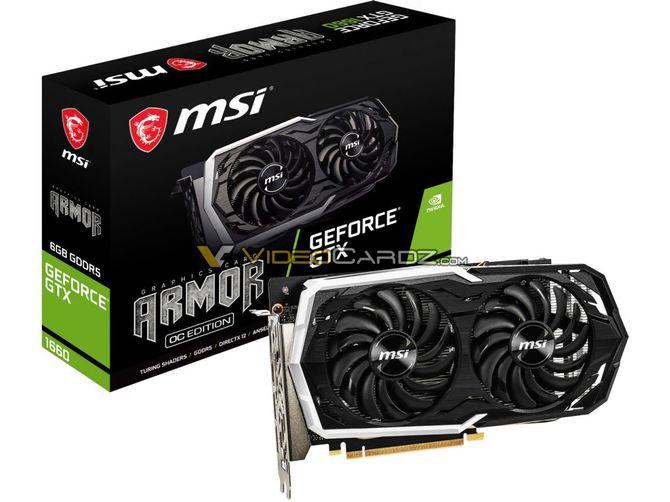 GeForce GTX 1660 w wydaniu EVGI i MSI. Są pierwsze zdjęcia [5]