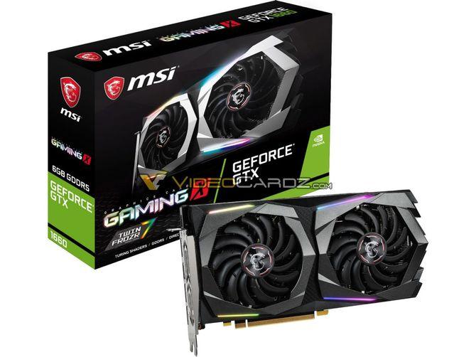 GeForce GTX 1660 w wydaniu EVGI i MSI. Są pierwsze zdjęcia [6]