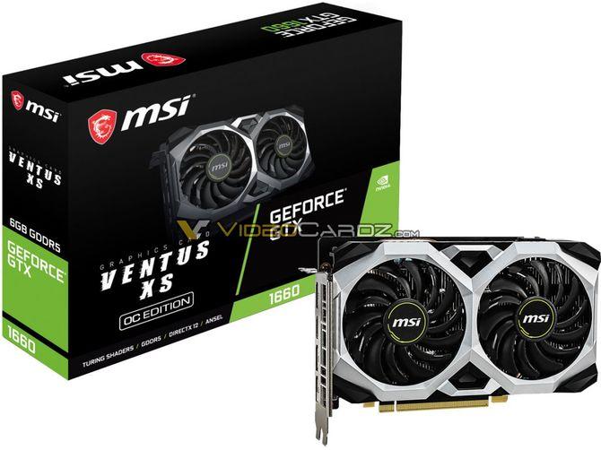 GeForce GTX 1660 w wydaniu EVGI i MSI. Są pierwsze zdjęcia [7]