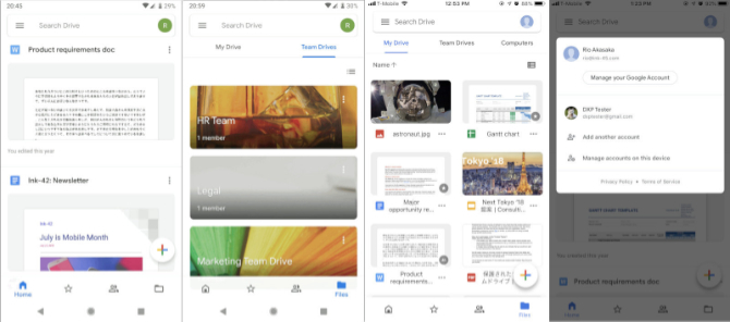 Google rozpoczęło wdrażanie odświeżonej aplikacji Dysku Google [1]